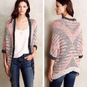 Anthropologie Moth Carrefour Jacquard Cardigan M